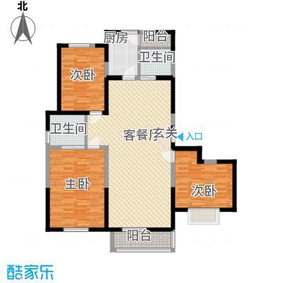 万炬智汇城一期国际公寓A区标准层C户型
