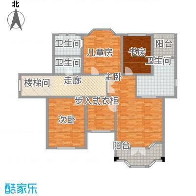广源・世纪豪园354.00㎡C二层户型4室3厅5卫1厨
