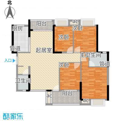 九江中航城2号楼E户型