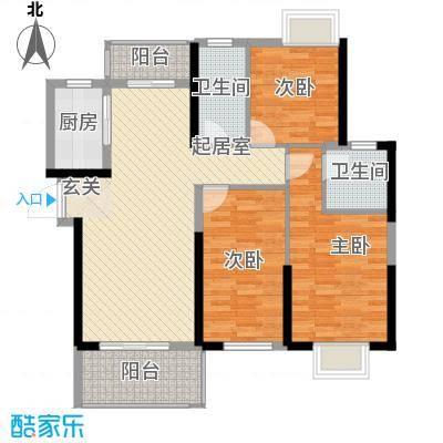 九江曼城12号楼C户型