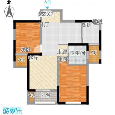 宇龙・湖畔花园32号楼户型