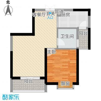 世纪城龙祥苑7.00㎡户型1室