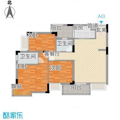 皓月花园1.12㎡深圳户型