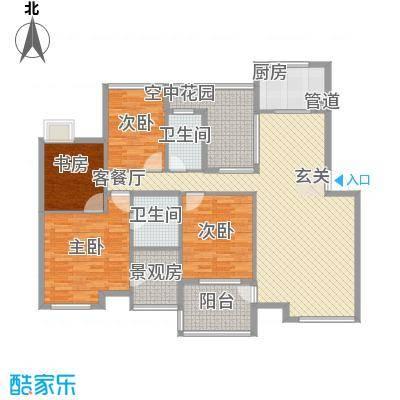 金水童话名苑141.50㎡F2户型