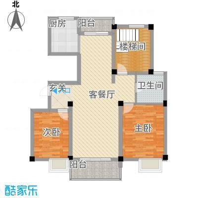 莲花广场115.00㎡户型3室
