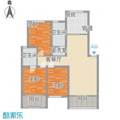 天一家园131.00㎡户型3室2厅2卫1厨