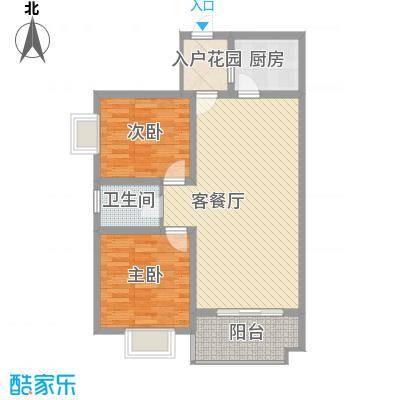 大金门花园122.00㎡户型2室