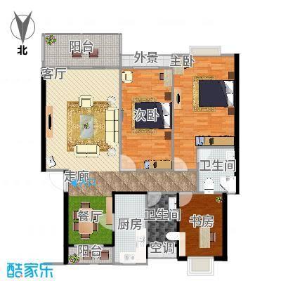 B1三室两厅两卫-副本