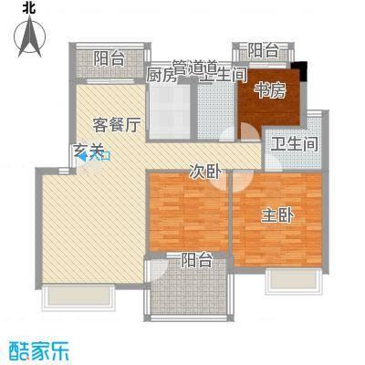 金水童话名苑13.00㎡E2户型