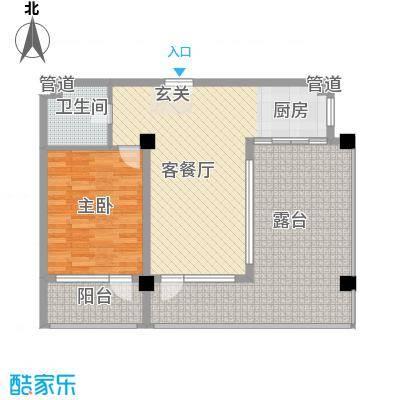 金上汤温泉D2(2013-10-16)户型1室2厅1卫1厨