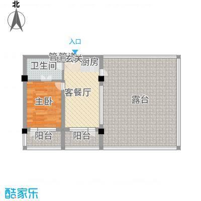 金上汤温泉D1(2013-10-16)户型1室1厅1卫