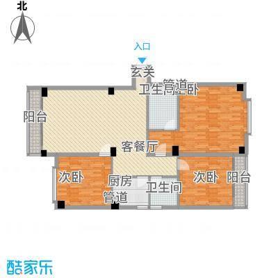 宝华花园142.68㎡户型