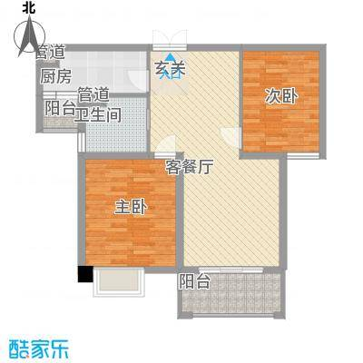 锦绣半山花园户型3室