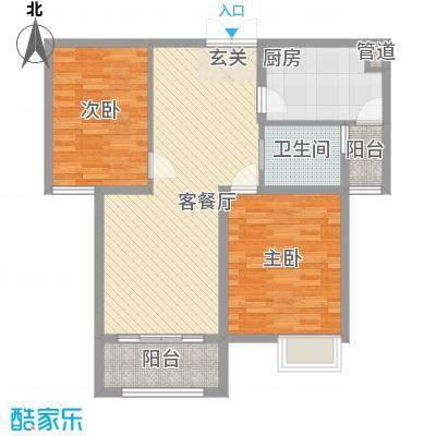 西堤公寓户型