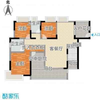 香樟国际户型3室