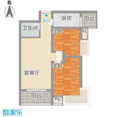 利君未来城二期5号楼B7户型
