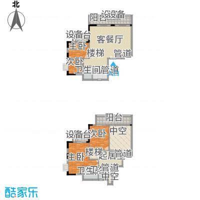 丰融尚城227.36㎡C栋(18、19)03户型4室3厅2卫1厨