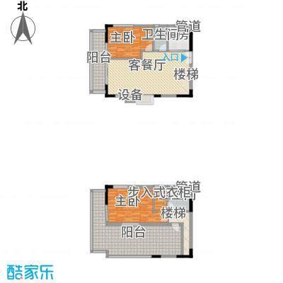 丰融尚城133.10㎡A栋(20、21)B栋(15、16)02户型2室2厅1卫1厨
