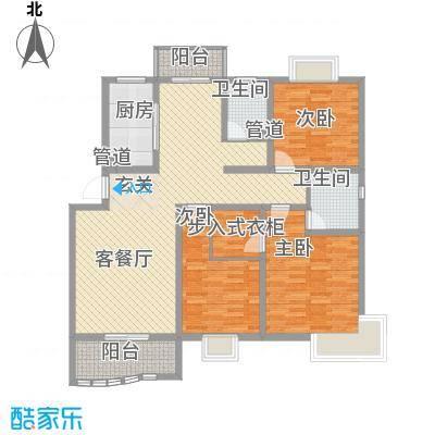 学林雅苑户型3室