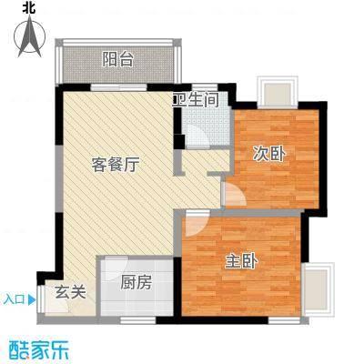 学林雅苑户型2室