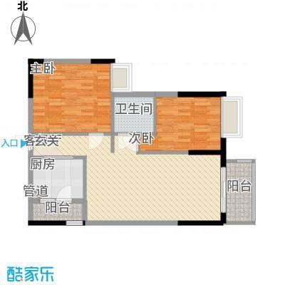 翠香茗庭3号房户型