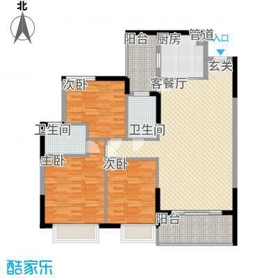 翠香茗庭1号房户型