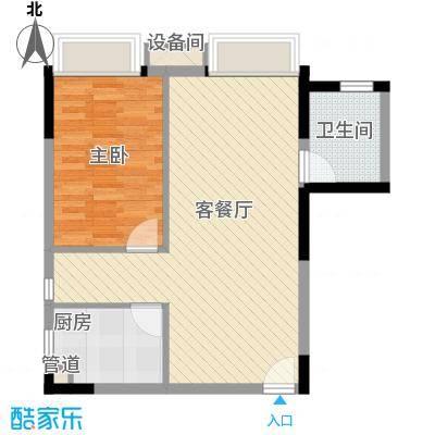 市政天元城75.00㎡户型2室