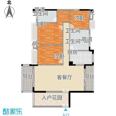 碧水天源枫景台8.00㎡户型2室