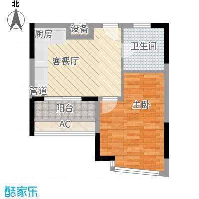 三盛颐景园户型1室