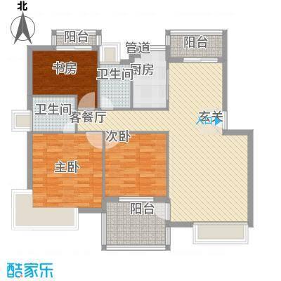 金水童话名苑14.10㎡E1户型