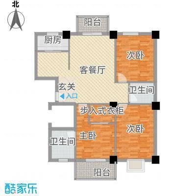 万和佳苑131.80㎡L户型3室2厅2卫1厨
