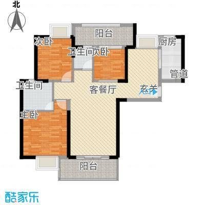 一城花园11.00㎡户型3室