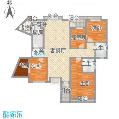 东泰花园康怡居18.00㎡户型4室
