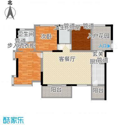 彩虹新村户型3室2厅1卫1厨