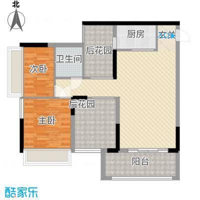 深业东城御园4.00㎡户型3室