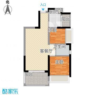 深业东城御园72.00㎡户型2室