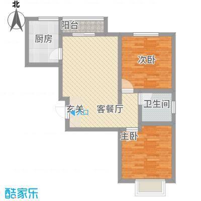 海莲山庄11.00㎡户型3室
