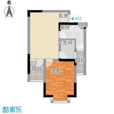 上海城市户型1室