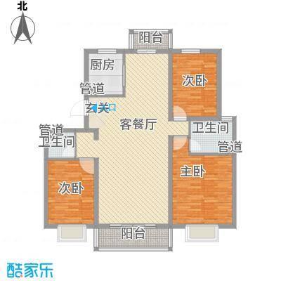 梅江南苑1户型