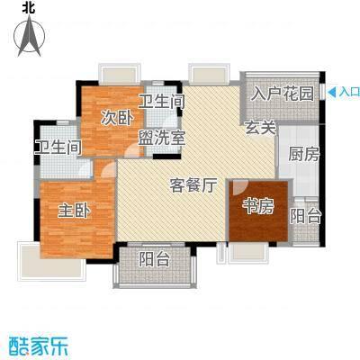 联华半山湖户型3室