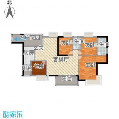 联华半山湖户型4室