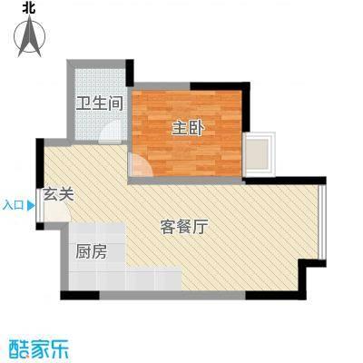 华业大厦户型1室