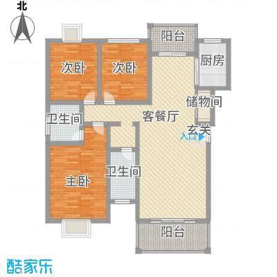宏益大厦U4603P967T15D68F734DT20100326150407户型3室2厅2卫1厨