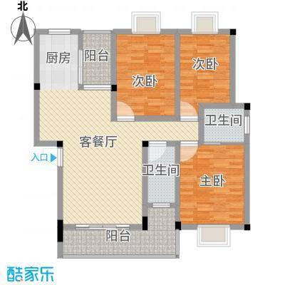 港龙新城18.00㎡户型4室