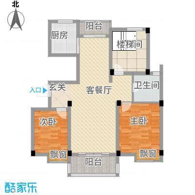 南城鸿福广场8.00㎡鸿福广场户型2室