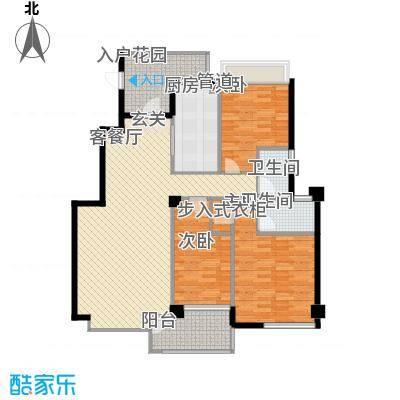 大溪地146.00㎡G户型3室2厅2卫1厨