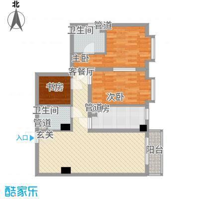 宝华花园1.87㎡户型