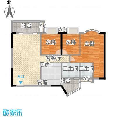 顺欣广场二期8~10栋标准层01户型