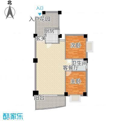 森海丽景11.00㎡户型2室