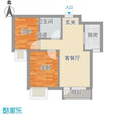 星海湾137.00㎡户型3室